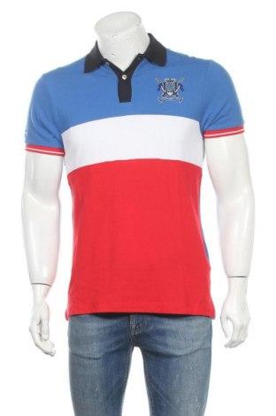 Ανδρικό t-shirt Hackett, Μέγεθος M, Χρώμα Πολύχρωμο, Βαμβάκι, Τιμή 29,73€