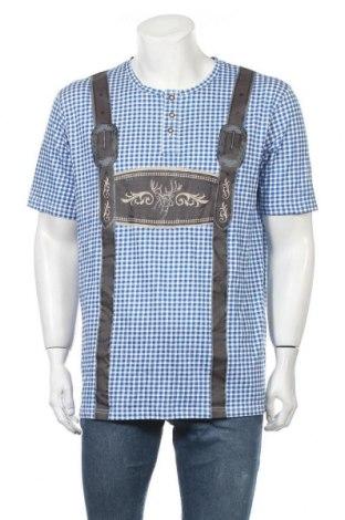 Мъжка тениска Reward, Размер L, Цвят Многоцветен, Памук, Цена 34,02лв.