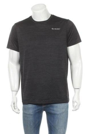 Мъжка тениска SOC, Размер XL, Цвят Черен, Цена 14,28лв.