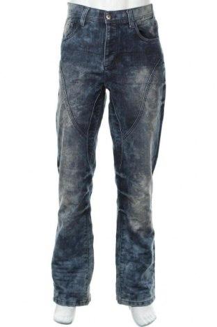 Мъжки дънки Infinity, Размер L, Цвят Син, 60% памук, 40% полиестер, Цена 17,39лв.