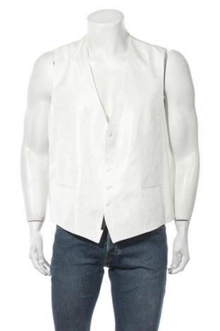 Ανδρικό γιλέκο Wilvorst, Μέγεθος XL, Χρώμα Λευκό, 50% ασετάτ, 50% πολυεστέρας, Τιμή 32,51€