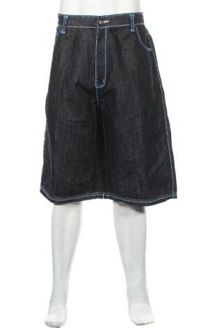 Мъжки къс панталон, Размер XXL, Цвят Син, 65% памук, 35% полиестер, Цена 4,73лв.