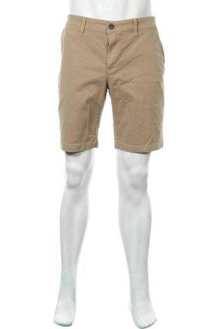 Ανδρικό κοντό παντελόνι Angelo Litrico, Μέγεθος L, Χρώμα Καφέ, 98% βαμβάκι, 2% ελαστάνη, Τιμή 6,62€