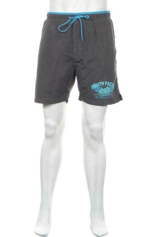 Мъжки къс панталон Atlas For Men, Размер L, Цвят Сив, Полиестер, Цена 15,75лв.