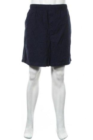 Мъжки къс панталон Basic Editions, Размер XL, Цвят Син, Памук, Цена 4,73лв.