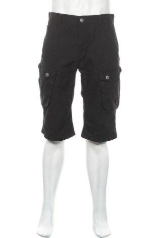 Мъжки къс панталон Clockhouse, Размер M, Цвят Черен, 100% памук, Цена 20,16лв.