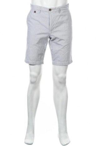 Мъжки къс панталон Cortefiel, Размер M, Цвят Син, Памук, Цена 20,70лв.