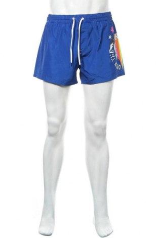 Мъжки къс панталон Diesel, Размер L, Цвят Син, Полиестер, Цена 57,12лв.