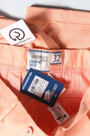 Мъжки къс панталон Lois, Размер M, Цвят Розов, 98% памук, 2% еластан, Цена 66,75лв.
