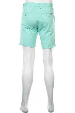 Мъжки къс панталон Lois, Размер M, Цвят Зелен, 98% памук, 2% еластан, Цена 66,75лв.