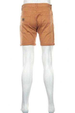 Мъжки къс панталон Lois, Размер M, Цвят Кафяв, 98% памук, 2% еластан, Цена 30,81лв.