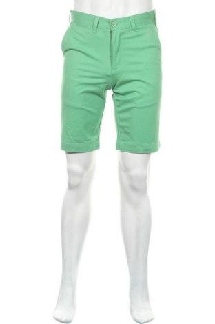 Мъжки къс панталон Lois, Размер M, Цвят Зелен, 98% памук, 2% еластан, Цена 41,87лв.