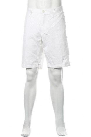 Pantaloni scurți de bărbați Massimo Dutti, Mărime XL, Culoare Alb, Bumbac, Preț 36,79 Lei