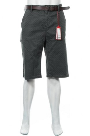 Pantaloni scurți de bărbați S.Oliver, Mărime XXL, Culoare Verde, 98% bumbac, 2% elastan, Preț 124,74 Lei