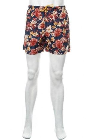Мъжки къс панталон Springfield, Размер L, Цвят Многоцветен, Полиестер, Цена 22,36лв.