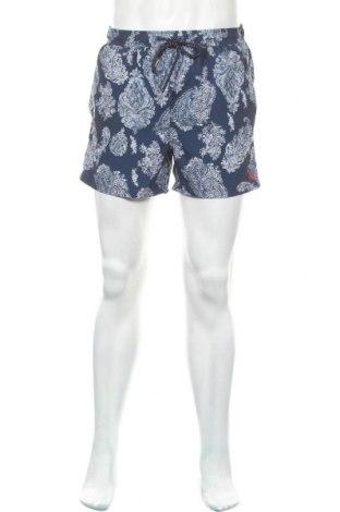 Мъжки къс панталон Studio, Размер M, Цвят Син, Полиестер, Цена 16,07лв.