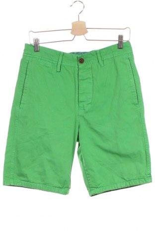 Мъжки къс панталон Victory, Размер S, Цвят Зелен, Памук, Цена 6,78лв.