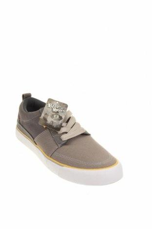 Ανδρικά παπούτσια, Μέγεθος 40, Χρώμα Γκρί, Κλωστοϋφαντουργικά προϊόντα, Τιμή 22,81€