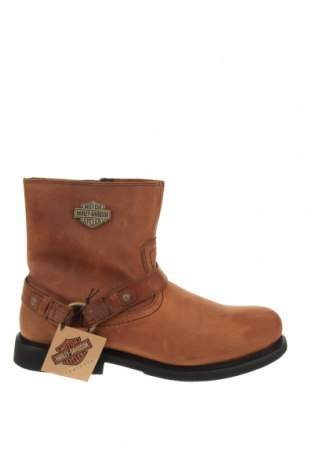 Мъжки обувки Harley- Davidson, Размер 46, Цвят Кафяв, Естествена кожа, Цена 289,00лв.
