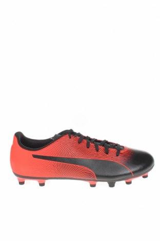 Мъжки обувки PUMA, Размер 44, Цвят Черен, Еко кожа, Цена 32,78лв.
