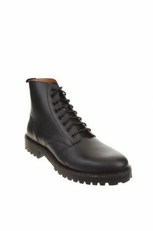 Мъжки обувки River Island, Размер 44, Цвят Черен, Естествена кожа, Цена 149,00лв.