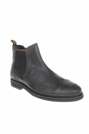 Мъжки обувки Superdry, Размер 46, Цвят Черен, Естествена кожа, Цена 269,00лв.