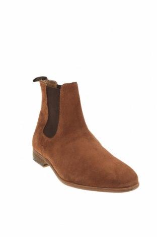 Мъжки обувки Topman, Размер 44, Цвят Кафяв, Естествен косъм, Цена 159,00лв.