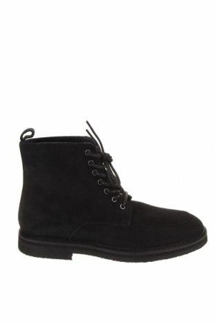 Мъжки обувки Walk London, Размер 43, Цвят Черен, Естествен велур, Цена 239,00лв.
