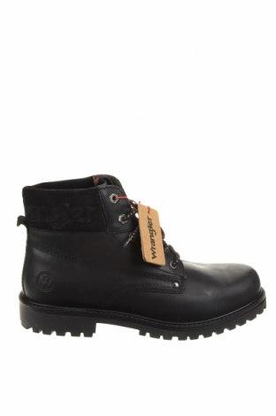 Мъжки обувки Wrangler, Размер 45, Цвят Черен, Естествена кожа, естествен велур, Цена 189,00лв.