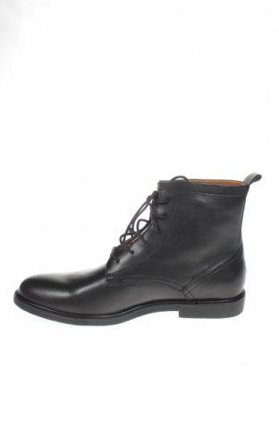 Мъжки обувки Zign, Размер 44, Цвят Черен, Естествена кожа, Цена 159,00лв.