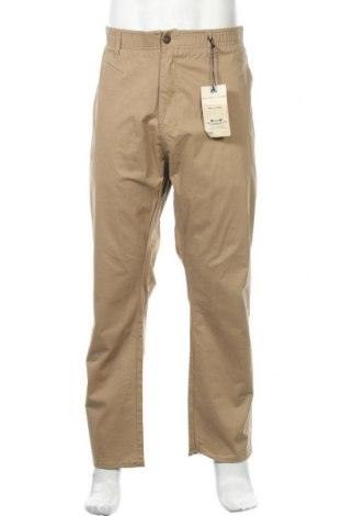 Мъжки панталон Alexander Julian, Размер XL, Цвят Бежов, 97% памук, 3% еластан, Цена 39,27лв.