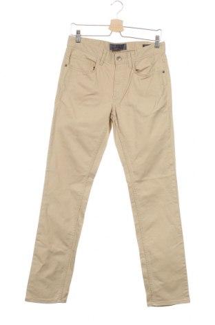 Мъжки панталон Angelo Litrico, Размер S, Цвят Бежов, 99% памук, 1% еластан, Цена 4,34лв.