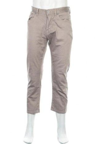 Мъжки панталон Boss Orange, Размер M, Цвят Кафяв, 98% памук, 2% еластан, Цена 34,44лв.