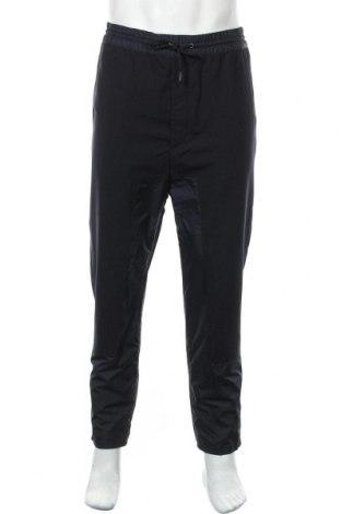 Pantaloni de bărbați Diesel Black Gold, Mărime L, Culoare Albastru, 53% poliester, 43% lână, 4% elastan, Preț 312,24 Lei