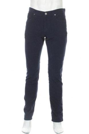 Ανδρικό παντελόνι Faconnable, Μέγεθος M, Χρώμα Μπλέ, 98% βαμβάκι, 2% ελαστάνη, Τιμή 56,45€