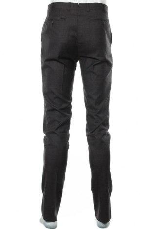 Pantaloni de bărbați Faconnable, Mărime M, Culoare Gri, Lână, Preț 441,62 Lei