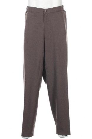 Ανδρικό παντελόνι Farah, Μέγεθος 4XL, Χρώμα Καφέ, Πολυεστέρας, Τιμή 21,58€