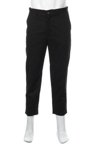 Pantaloni de bărbați Lft, Mărime M, Culoare Negru, 74% poliester, 23% viscoză, 3% elastan, Preț 34,94 Lei