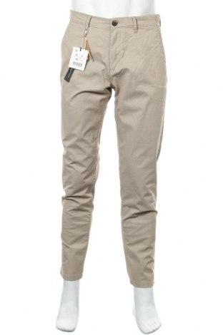Мъжки панталон Lft, Размер M, Цвят Бежов, 97% памук, 3% еластан, Цена 27,18лв.