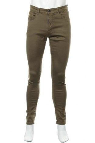 Мъжки панталон Lois, Размер M, Цвят Зелен, 97% памук, 3% еластан, Цена 29,51лв.