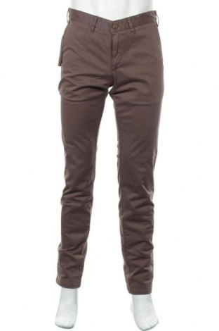 Мъжки панталон Lois, Размер M, Цвят Кафяв, 98% памук, 2% еластан, Цена 40,66лв.