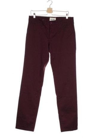 Мъжки панталон Lois, Размер M, Цвят Червен, 98% памук, 2% еластан, Цена 51,17лв.