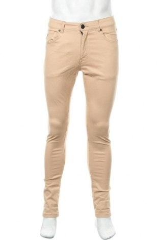 Мъжки панталон Lois, Размер M, Цвят Бежов, 97% памук, 3% еластан, Цена 29,76лв.