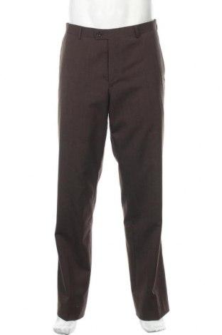 Мъжки панталон WE, Размер M, Цвят Кафяв, 70% вълна, 30% полиестер, Цена 22,05лв.