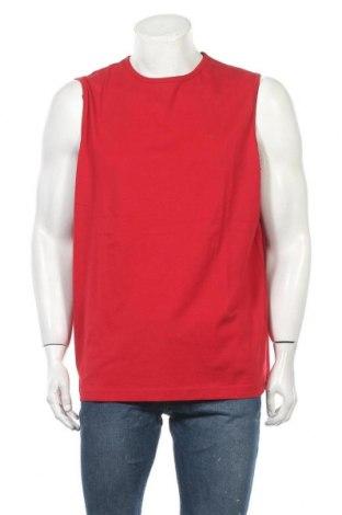 Ανδρική αμάνικη μπλούζα Charles Vogele, Μέγεθος XXL, Χρώμα Κόκκινο, Βαμβάκι, Τιμή 3,86€