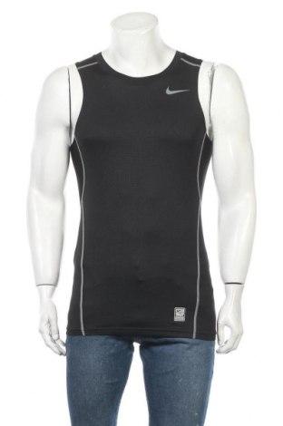 Мъжки потник Nike, Размер S, Цвят Черен, 92% полиестер, 8% еластан, Цена 18,48лв.