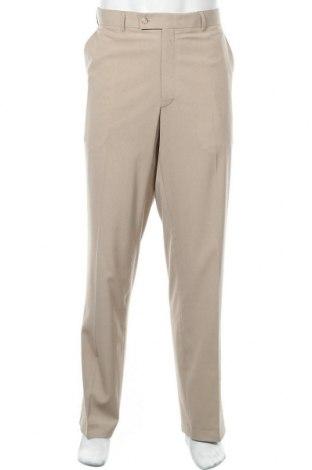 Мъжки спортен панталон Angelo Litrico, Размер XL, Цвят Бежов, 96% полиестер, 4% еластан, Цена 4,41лв.