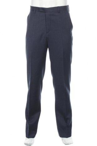 Мъжки панталон Pierre Cardin, Размер M, Цвят Син, Вълна, Цена 139,00лв.