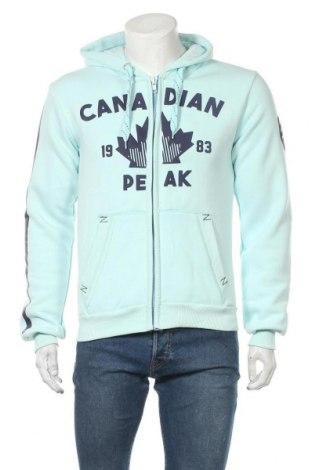 Ανδρικό φούτερ Canadian Peak, Μέγεθος L, Χρώμα Πράσινο, 65% βαμβάκι, 35% πολυεστέρας, Τιμή 32,13€