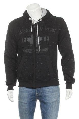 Ανδρικό φούτερ Canadian Peak, Μέγεθος L, Χρώμα Μαύρο, 65% βαμβάκι, 35% πολυεστέρας, Τιμή 31,34€
